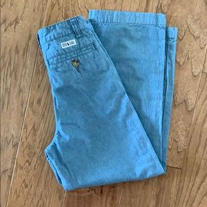 Polo by Ralph Lauren chambray pants